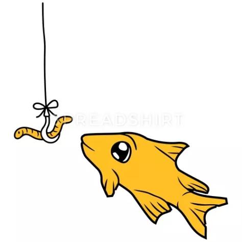 orm-krok-fiske-krok-snor-tau-tegneserie-tegneserie-ge-t-skjorte-for-menn